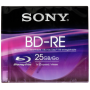 "Sony ""Blu-Ray BD-RE 25GB 1-2x Speed, Slim Case [DE-Version, Regio 2/B]"""