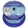 """Verbatim""""1x50 Verbatim CD-R 80 / 700MB 52x Speed wide printable generic"""""""