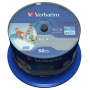 "Verbatim ""1x50 Verbatim BD-R Blu-Ray 25GB 6x Speed DL Wide Printable CB [DE-Version, Regio 2/B]"""