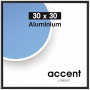 "Nielsen Design""Nielsen Accent 30x30 Aluminium Schwarz 54126"""