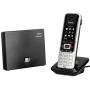 """Gigaset Communications Gmbh""""S850A GO analog und VoIP IP Schnurlostelefon mit AB platin schwarz"""""""