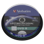 "Verbatim ""1x10 Verbatim M-Disc DVD R 4,7GB 4x Speed, Cakebox printable"""
