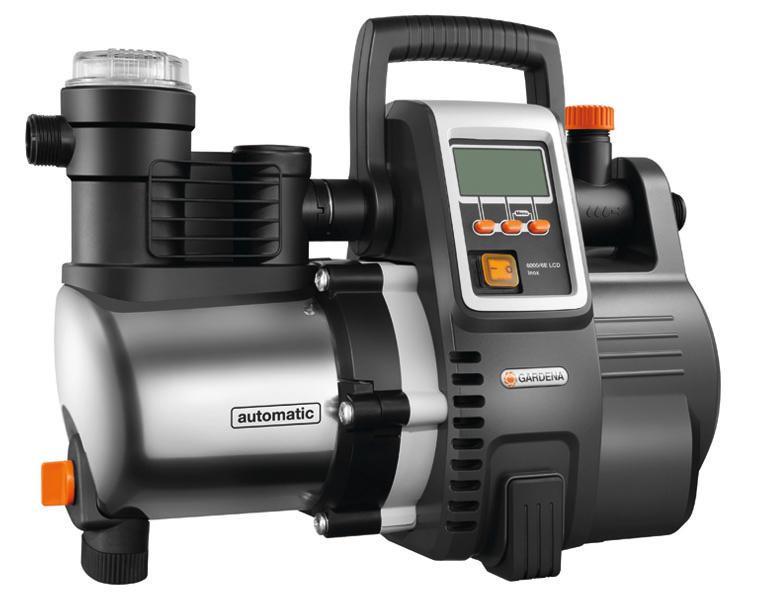"""Gardena""""Hauswasserautomat Premium 6000/6E LCD Inox, Pumpe"""""""