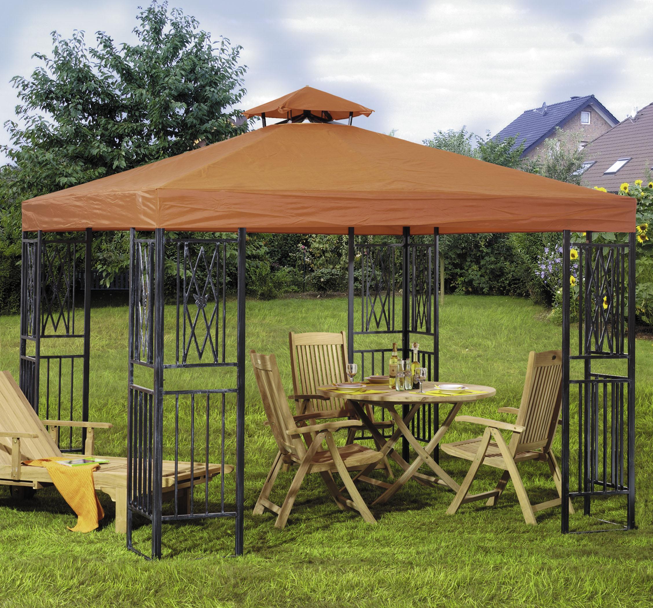 brema dach zu pavillon rimini terrakotta brema accessories grooves inc. Black Bedroom Furniture Sets. Home Design Ideas