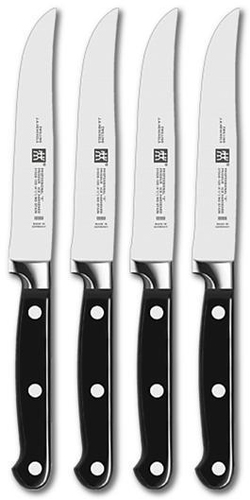 zwilling 39188 000 professional s steakmesser set 4 tlg zwilling hardware electronic. Black Bedroom Furniture Sets. Home Design Ideas
