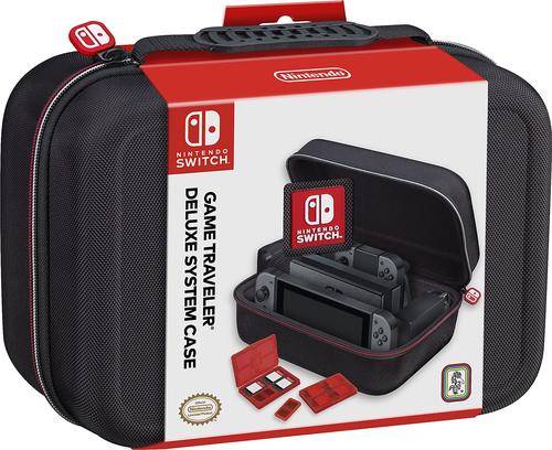 "Nintendo Switch""Tasche Switch Deluxe Case NNS 60- Offiziell lizenziert schwarz [DE-Version]"""