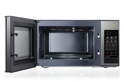 samsung ge83x mikrowelle silber schwarz samsung. Black Bedroom Furniture Sets. Home Design Ideas