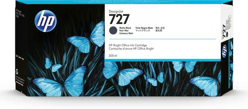 hp hp tintenpatrone c1q12a matt 727 schwarz c1q12a tinten grooves inc. Black Bedroom Furniture Sets. Home Design Ideas