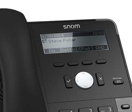 """Snom""""D712, VoIP-Telefon"""""""