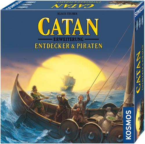 Klaus teuber die siedler von catan entdecker piraten
