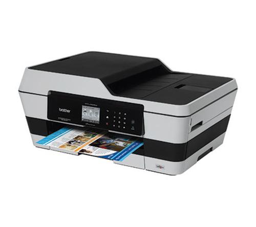 4 brother mfc j6520dw tintenstrahl multifunktionsger t a3 in 1 drucker kopierer scanner. Black Bedroom Furniture Sets. Home Design Ideas