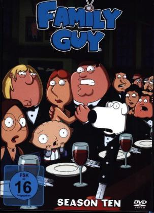 Family Guy S.10 [DE-Version, Regio 2/B] - Family Guy S10 DVD NEW - Deutschland - Family Guy S.10 [DE-Version, Regio 2/B] - Family Guy S10 DVD NEW - Deutschland