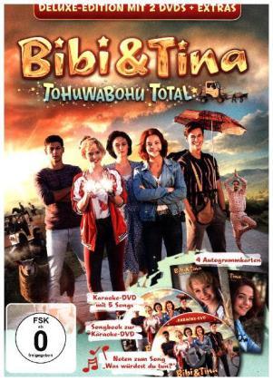 bibi und tina - deluxe-dvd 4.kinofilm:tohuwabohu total - kiddinx entertainment gmbh dvd grooves inc.