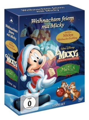 walt disney weihnachten feiern mit micky walt disney. Black Bedroom Furniture Sets. Home Design Ideas