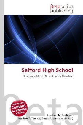 Lambert-M-Surhone-Safford-High-School-Kartoniert-Broschiert-NEU