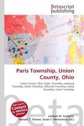 Lambert-M-Surhone-Paris-Township-Union-County-Ohio-Kartoniert-Broschier-NEU