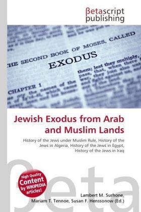 Lambert-M-Surhone-Jewish-Exodus-from-Arab-and-Muslim-Lands-Kartoniert-Bro-NEU